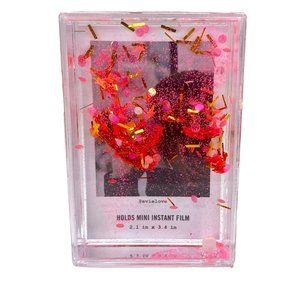 Urban Outfitters Mini Glitter Picture Frame